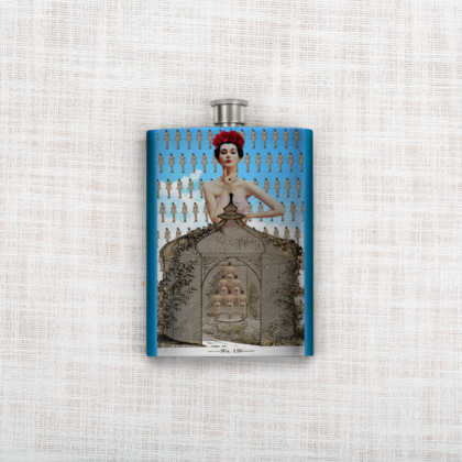 Amour d'Armour Hip Flask