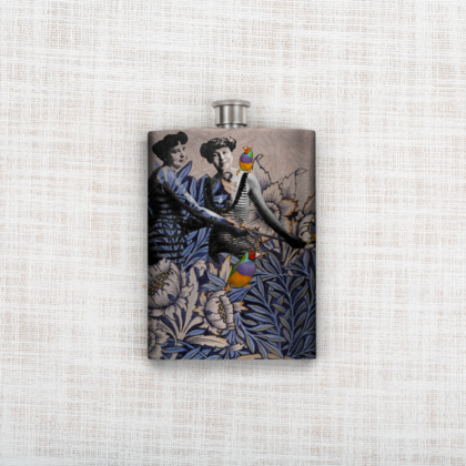 Our Little Jungle Hip Flask