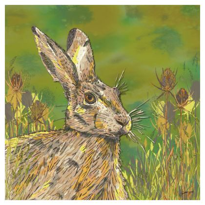 Summer Hare Coasters