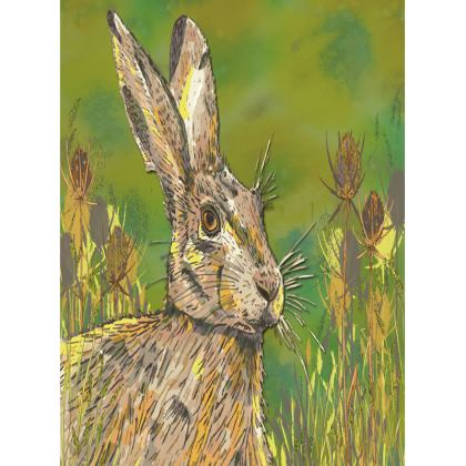 Summer Hare Tray