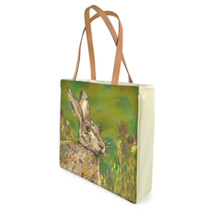 Summer Hare Shopper Bag