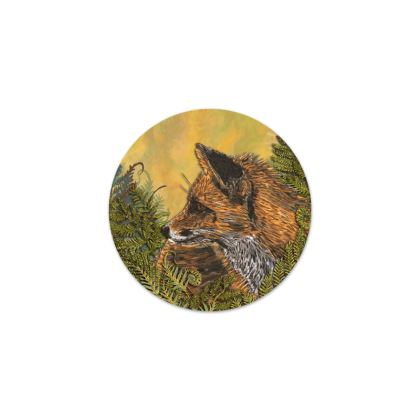 Ferny Fox Serving Platter