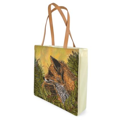 Ferny Fox Shopper Bag