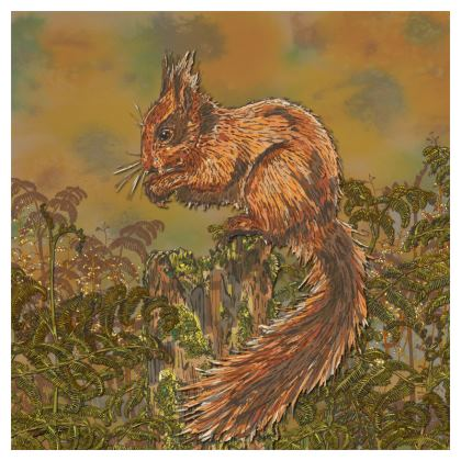 Squirrel Coasters