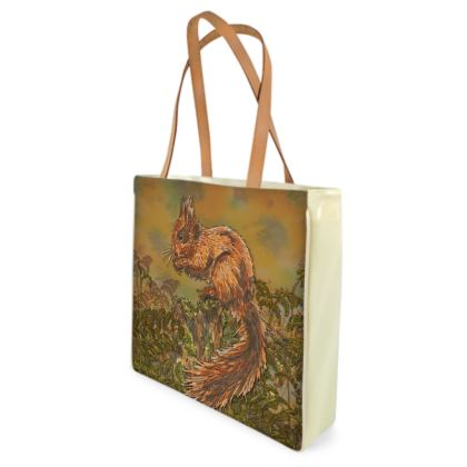 Squirrel Shopper Bag