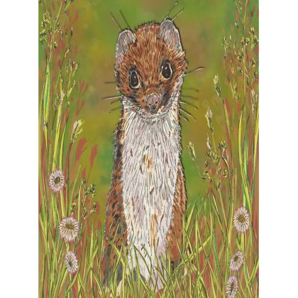 Summer Stoat Tray