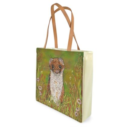 Summer Stoat Shopper Bag