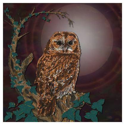 Tawny Owl Coasters