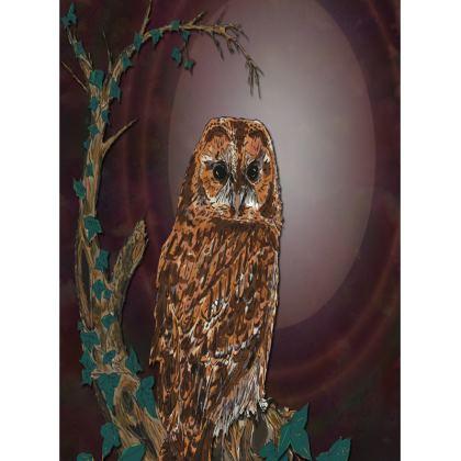 Tawny Owl Tray