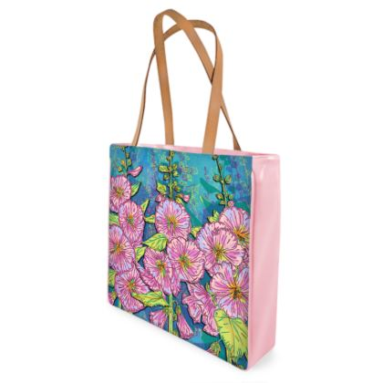 Hollyhocks Shopper Bag
