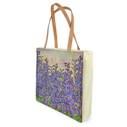 Delphiniums Shopper Bag