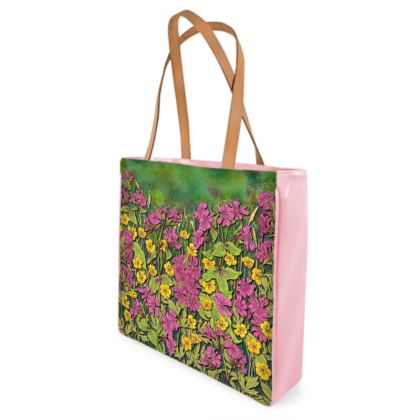Summer Wildflower Shopper Bag