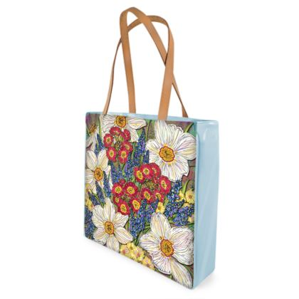 Spring Flowers Shopper Bag