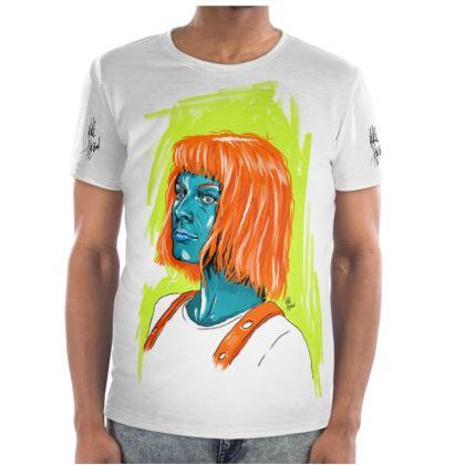 """""""Leeloo"""" Cut and Sew T shirt"""