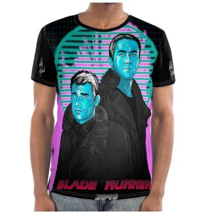 """""""Blade Runner"""" 2049 Cut and Sew T Shirt"""