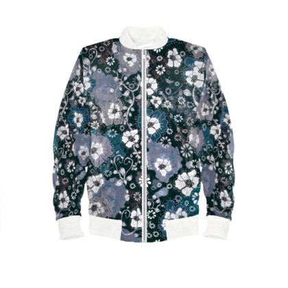 Ladies Bomber Jacket - Ocean