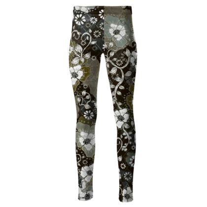 High Waisted Leggings - Combat