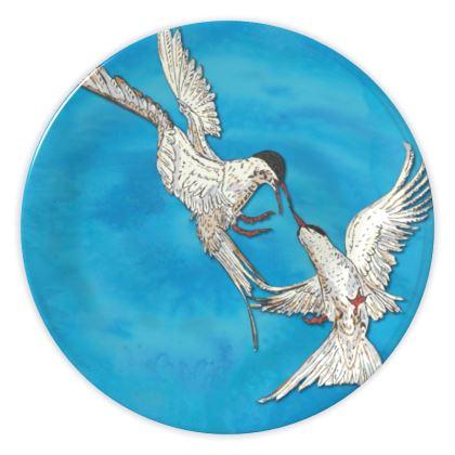 Arctic Terns China Plate