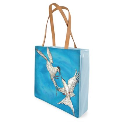 Arctic Terns Shopper Bag