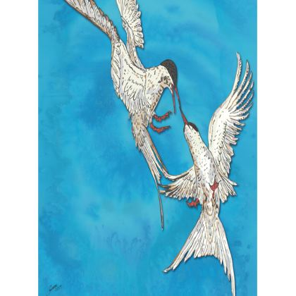 Arctic Terns Tray