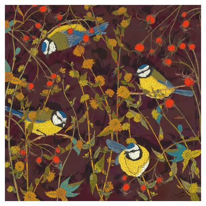 Garden Birds Coasters Set