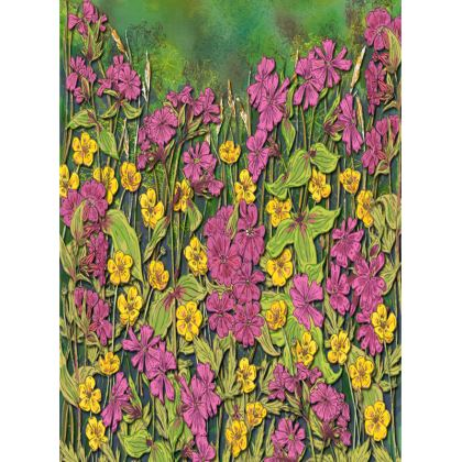 Summer Wildflowers Tray