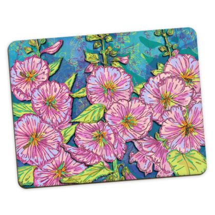 Hollyhocks Placemats