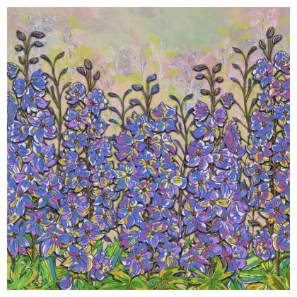 Delphiniums Coasters