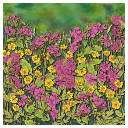 Summer Wildflowers Coasters