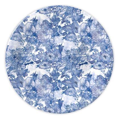 Gardenia Pattern China Plates