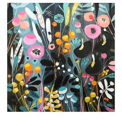 Socks in Natalie Rymer Wild Flowers design
