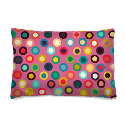 Dotty Pink Pillow Case