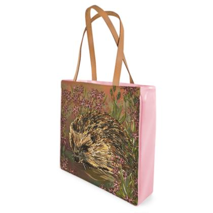 Hedgehog Shopper Bag