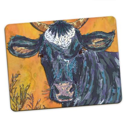 Colourful Cow Placemats