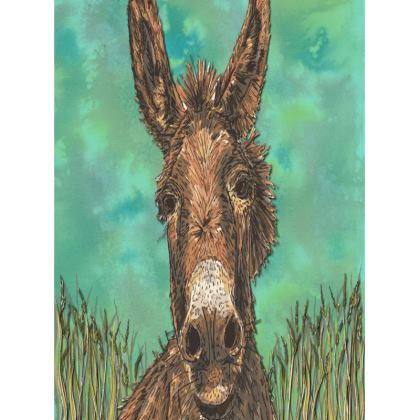 Brown Donkey Tray