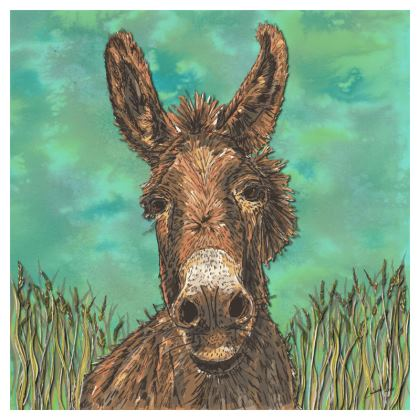 Brown Donkey Coasters