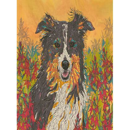 Border Collie Tray