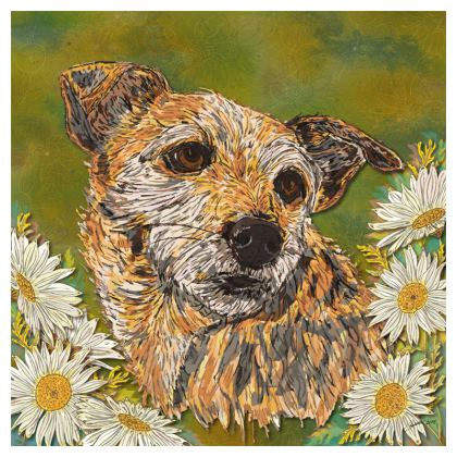 Border Terrier Coasters