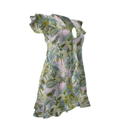 Tropical paradise Tea Dress