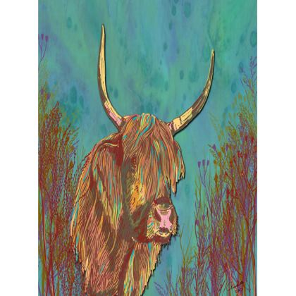 Highland Cow Tray