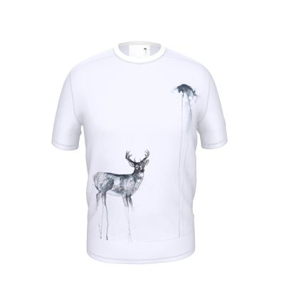 'The Stag' Cut and Sew T Shirt