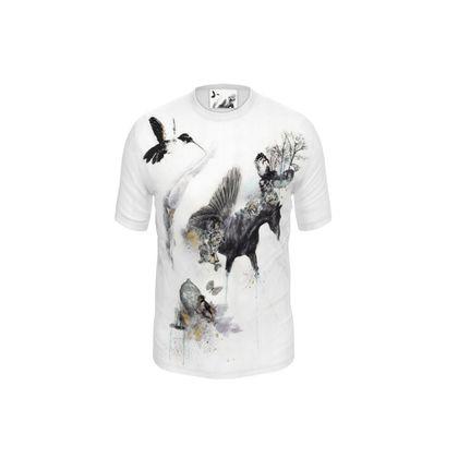 'Darwin's Hybrid' Cut and Sew T Shirt