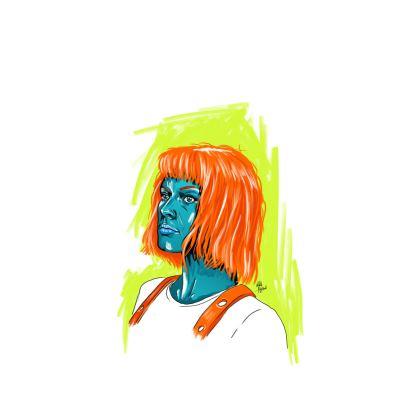 """""""Leeloo"""" Ladies T shirt"""