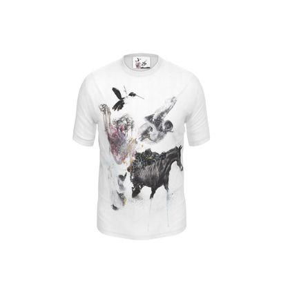 'Darwin's Evolution' Cut and Sew T Shirt