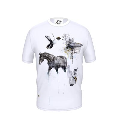 'Darwin's Dream' Cut and Sew T Shirt