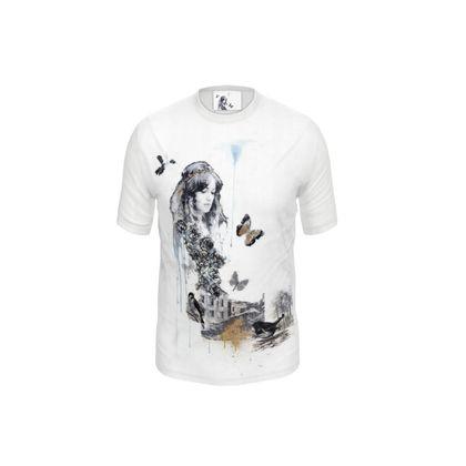 'Nouveau Belle' Cut and Sew T Shirt