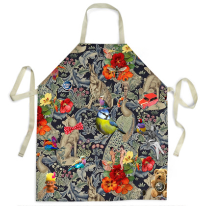 And Another Thing Blue Tit Apron