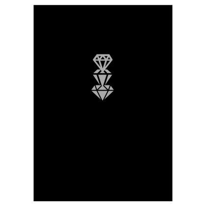 DiamondBlk Slim Fit Mens T-Shirt
