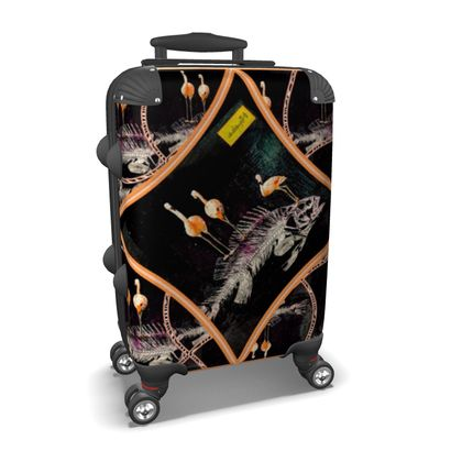279,. TRIO INFERNAL designer suitcase ninibing34 DESIGNER KOFFER max cabin. size