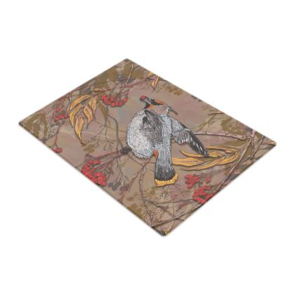 Waxwing Glass Chopping Board